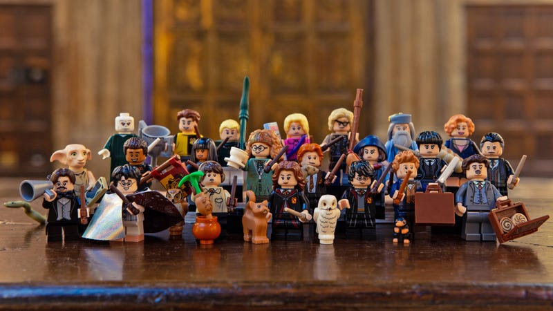 Illustration for article titled Lego's Next Minifigure Collection Is a Harry Potter Treasure Trove