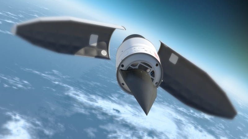 Illustration for article titled China Is Testing a New Ultra-High Speed Missile Vehicle
