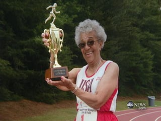 Ida Keeling is breaking records at age 95.