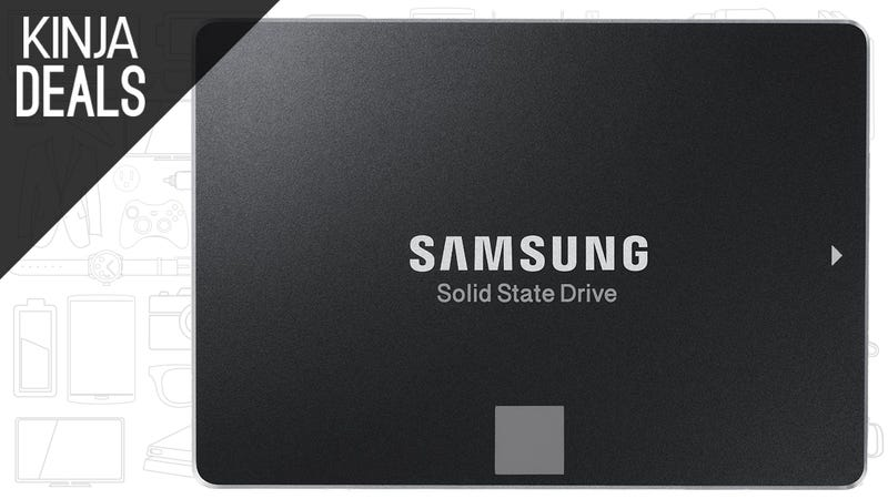 Illustration for article titled The Most Popular 500GB SSD is Back Down to Its Price Low
