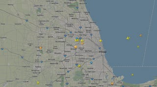 Illustration for article titled A Fire In Air Traffic Control Is Totally Screwing All Chicago Flights