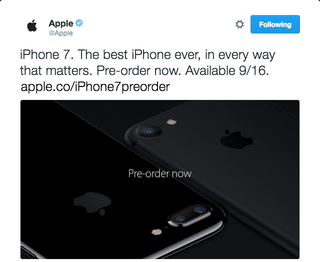 Illustration for article titled Apple Just Accidentally Tweeted the Latest iPhone