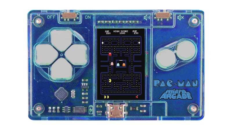This Tiny Pac Man Game Is The Size Of A Credit Card