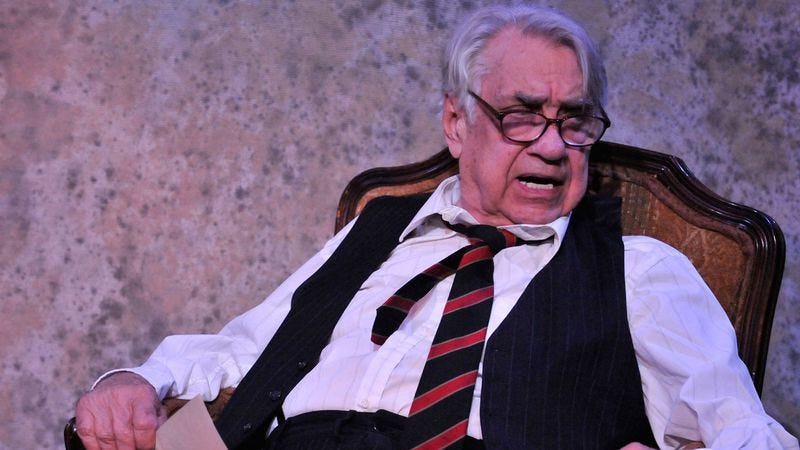 "Philip Baker Hall in ""I Never Sang For My Father."" Credit: Daniel G. Lam"