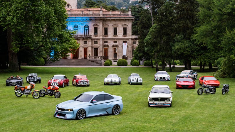 Illustration for article titled Here Are All Eight Of BMW's Hommage Vehicle Designs