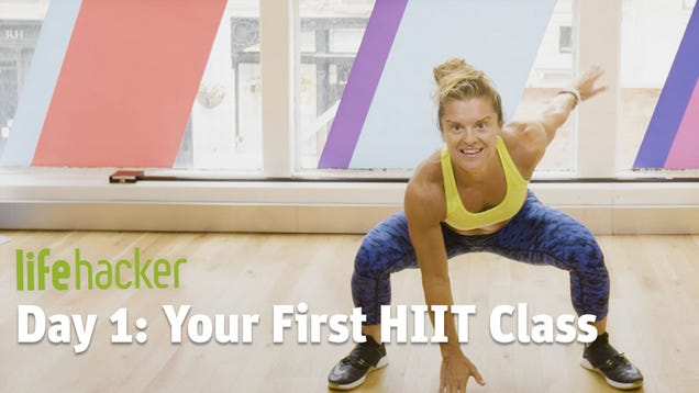 Day 1: A Beginner's Guide to HIIT Class