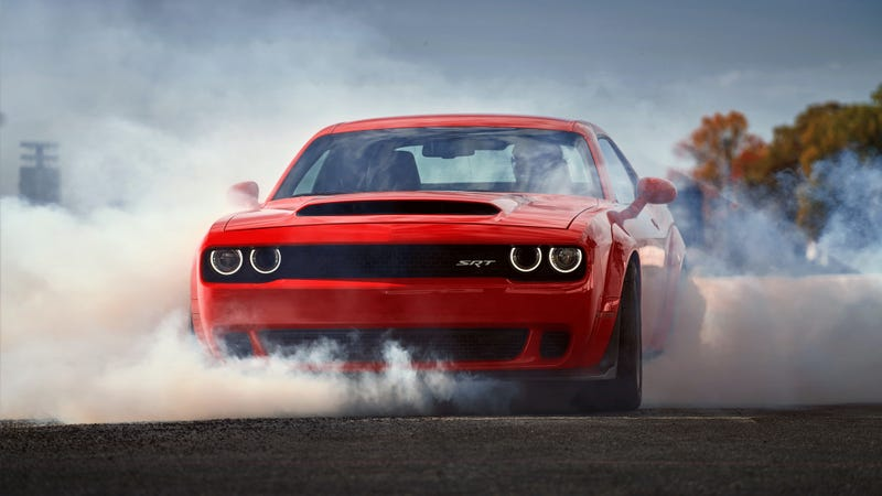 The 840 Horsepower Dodge Challenger Demon Starts At $84,995