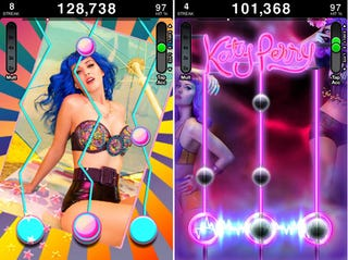Illustration for article titled Katy Perry's Huge Back Catalog Cherrypicked For iPhone Music App