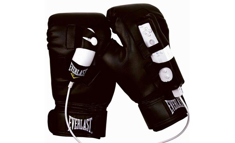 Illustration for article titled Prepare For Punch-Out With These Tacky Wii Boxing Gloves