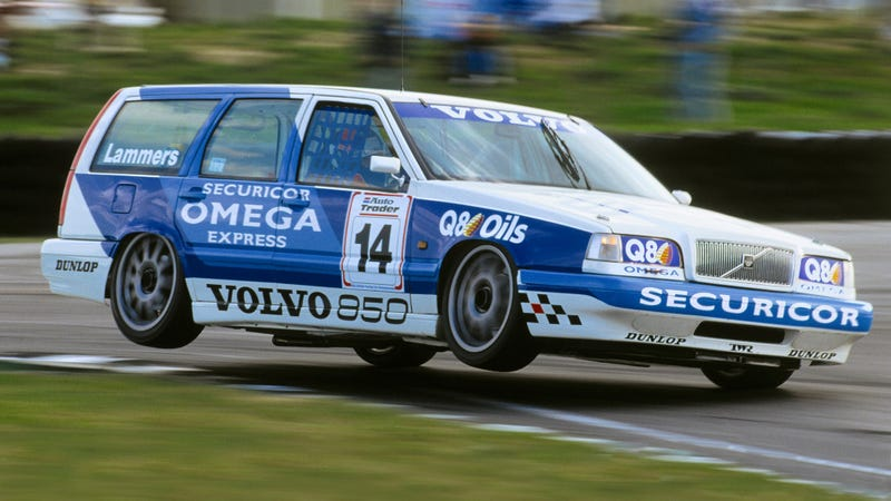 Volvo's BTCC 850, run by the ingenious (and rule-bending) people at TWR. Photo: Volvo