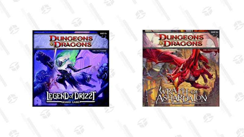 Dungeons & Dragons: The Legend of Drizzt Board Game | $39 | AmazonDungeons and Dragons: Wrath of Ashardalon Board Game | $39 | Amazon