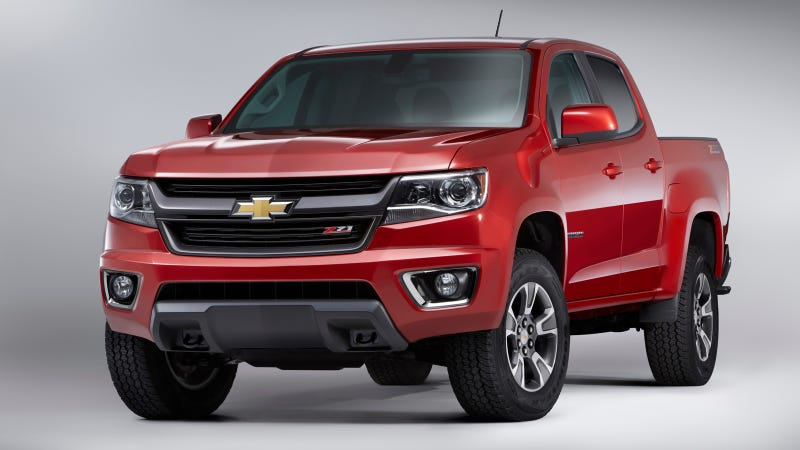 Illustration for article titled The 2015 Chevy Colorado Will Cost $20,995, GMC Canyon Starts At $21,880