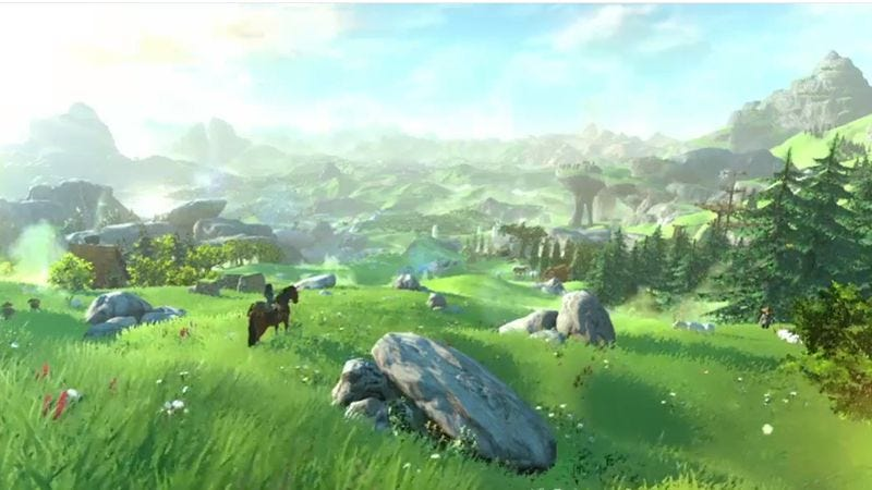 Illustration for article titled The new Legend Of Zelda is probably an open-world game, due in 2015