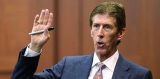 George Zimmerman's attorney, Mark O'Mara (Pool/Getty Images)