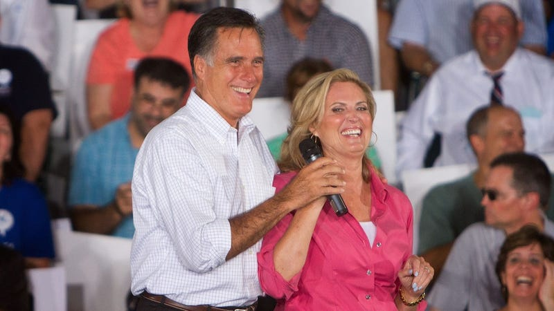 Illustration for article titled Mittbot Romney Cannot Compute that Gay People Have Families