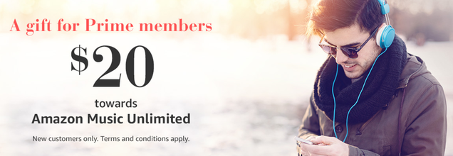 5c7c31be176 Prime Members Can Get Over Three Months of Amazon Music Unlimited For Free