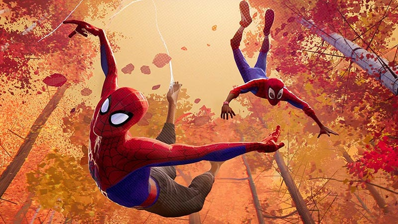 Illustration for article titled Into the Spider-Verse Looks So Goddamn Great, Sony Wants to Patent It