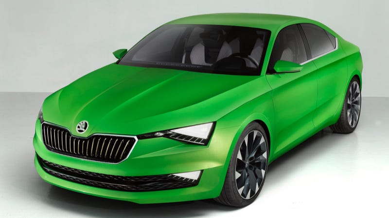 Illustration for article titled Skoda VisionC Concept Is The Great Looking Future Of VW's Best Brand