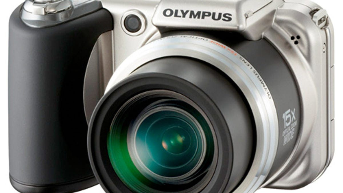 Olympus' SP-800UZ and SP-600UZ Have New Background
