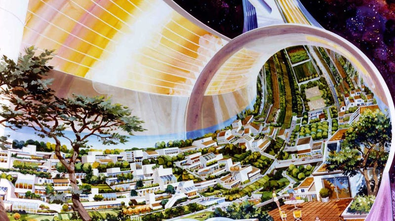 Illustration for article titled That Time Congress Considered Building Cities In Space