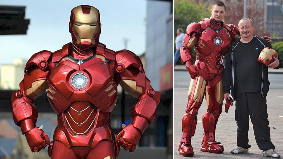 sc 1 st  Gizmodo & 10 DIY Iron Man Suits That Give Tony Stark a Run for His Money