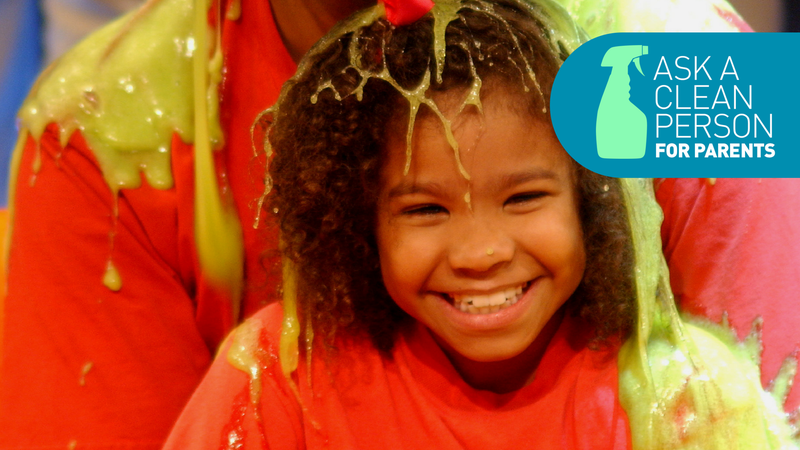 What To Do When Slime Gets In Your Kids Hair
