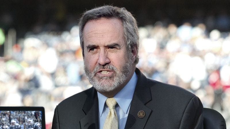 Illustration for article titled CBS Loses Dan Fouts For Season After Blowing Out Larynx On Routine Anecdote