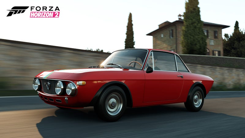 Illustration for article titled Forza Horizon 2 Final Car List: Holy Fucking Shitballs a Fulvia