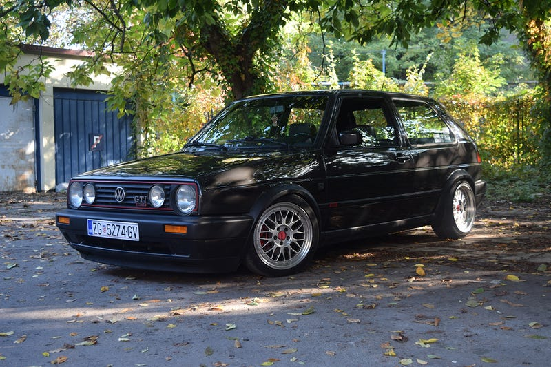 Illustration for article titled Oppo review: 1988 Golf GTI with a 1.9 TDI
