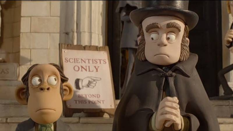 Charles Darwin in The Pirates: Band Of Misfits