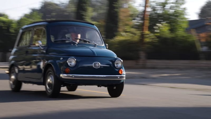 Icon Built The Perfect City Car In This Electric Fiat 600 Gardinetta