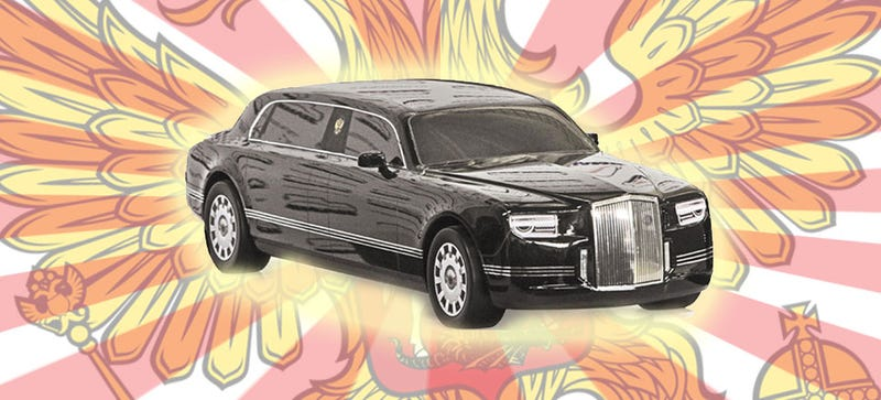 Illustration for article titled You Could Own The Same Crazy Limo As Vladimir Putin
