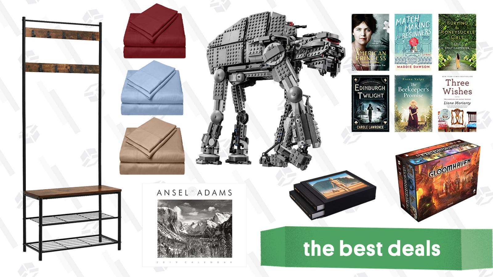 QnA VBage Sunday's Best Deals: LEGO Star Wars Sets, Gloomhaven, Kindle eBooks, Furniture, and More
