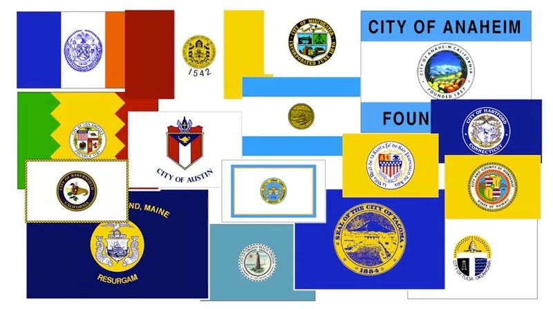 Illustration for article titled Help Us Find the Ugliest City Flag