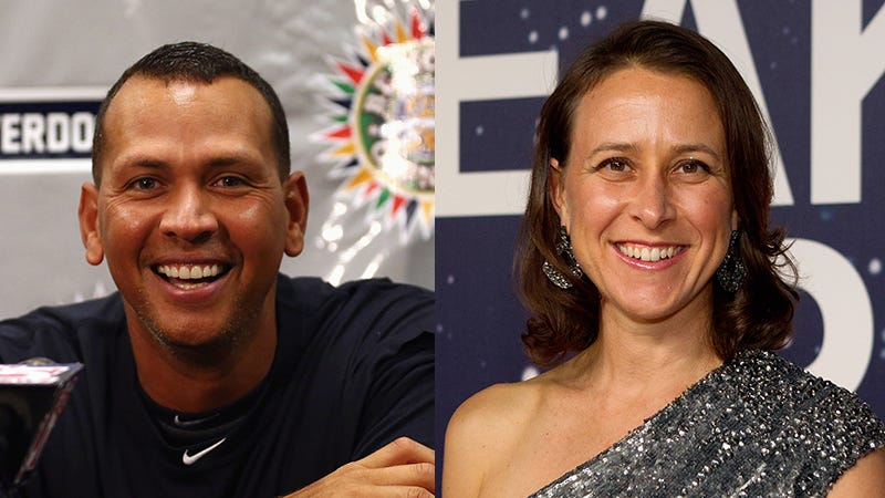 Illustration for article titled A-Rod Is Dating Anne Wojcicki, Tech CEO and Google Co-Founder Sergey Brin's Ex-Wife
