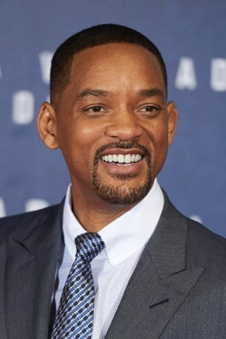 Actor Will Smith attends the premiere of Concussion on Jan. 27, 2016, in Madrid.Carlos Alvarez/Getty Images