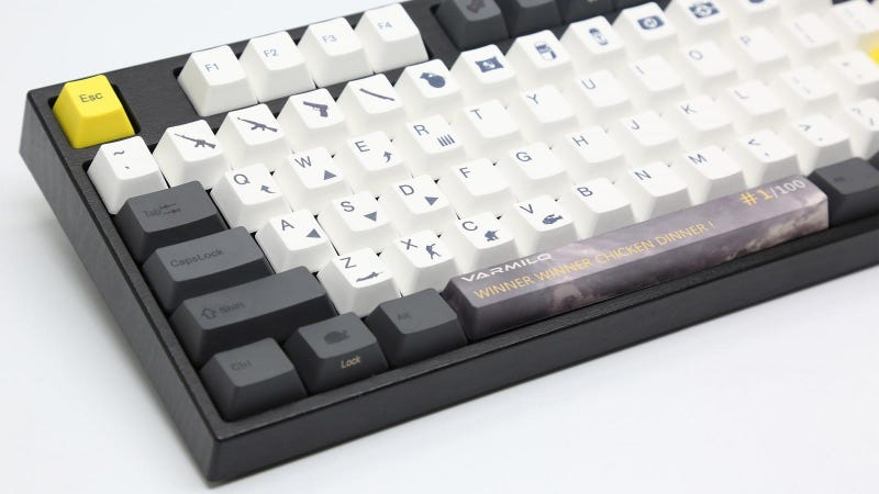 Illustration for article titled A Keyboard For Serious PUBG Players