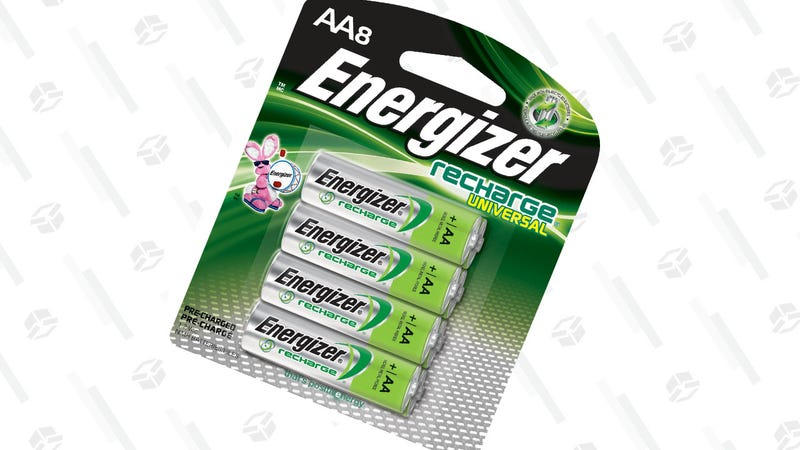 Energizer Rechargeable AA Batteries 8-Pack | $13 via coupon on page | Amazon