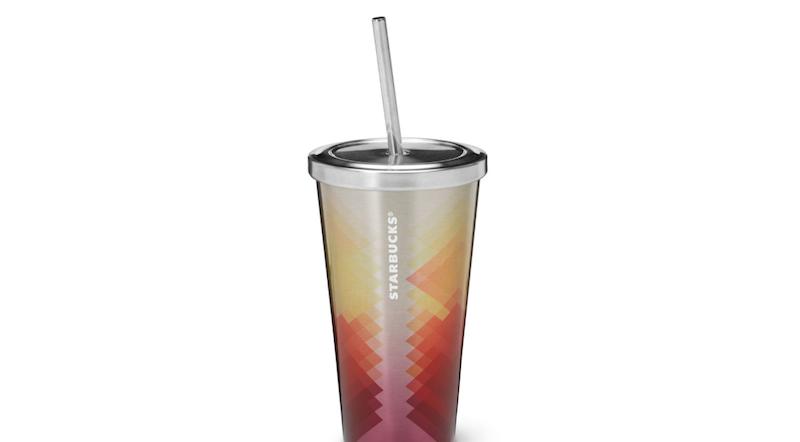 Starbucks cold-to-go steel cup (Image: Starbucks)