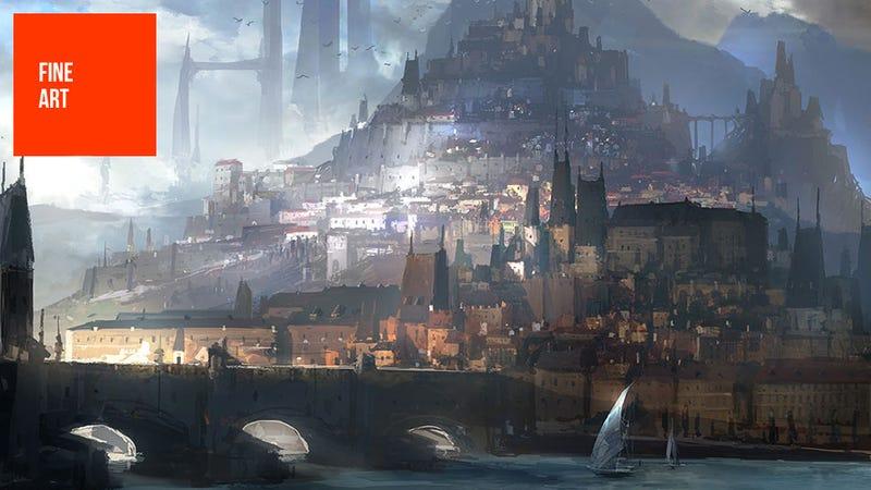 Illustration for article titled The Works Of NCSoft Artist Park Jong Won