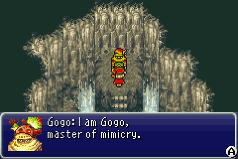 Illustration for article titled That Time A Player Claimed Final Fantasy VI's Gogo Was The Governor Of Illinois