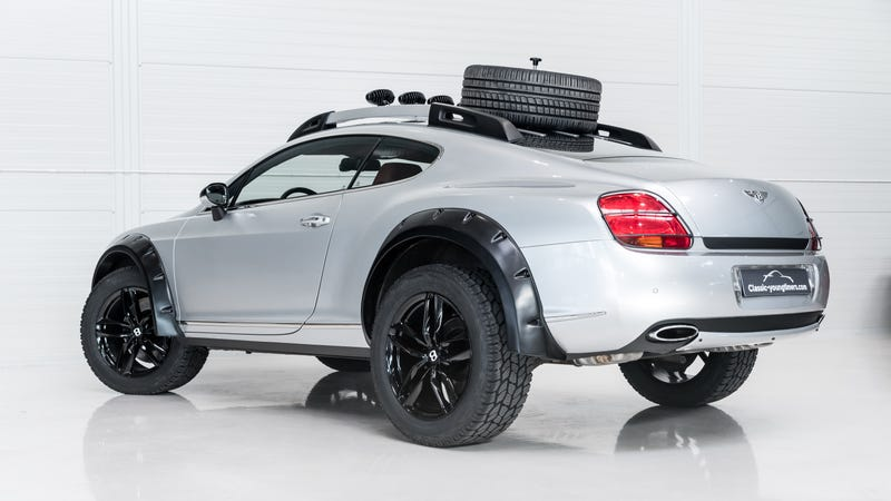 Illustration for article titled Become Lord Of The Seven Wastes With This Offroad Bentley