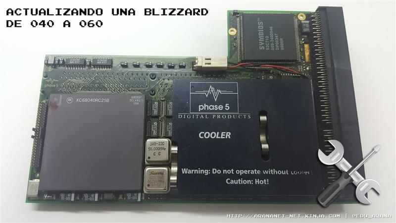 Illustration for article titled ACTUALIZANDO UNA BLIZZARD PPC DE 040 A 060