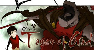 Illustration for article titled If you like anime or manga or even Marvel/DC Comics then you should be reading Tower of God