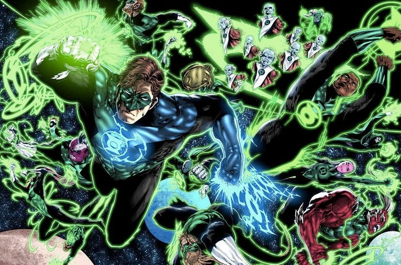 Illustration for article titled Green Lantern Corps Joins the DC Cinematic Universe Schedule