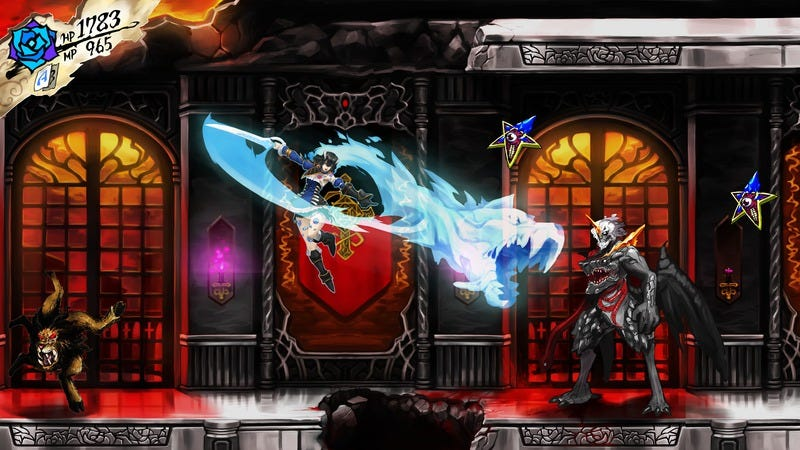 Concept art for Bloodstained: Ritual Of The Night