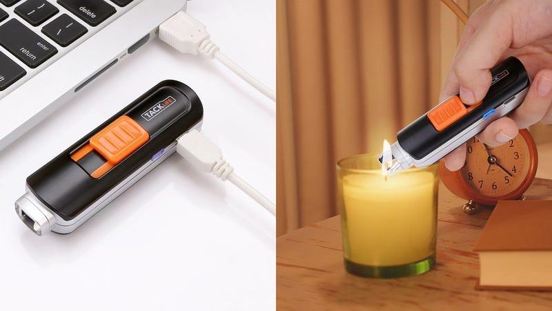 Encendedor Tacklife eléctrico | $7 | Amazon | Usa el código XUHGBSFX