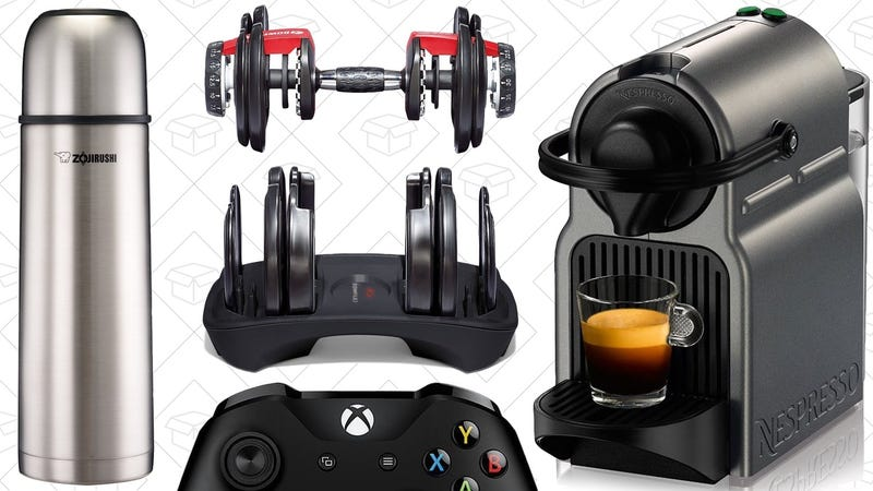 Illustration for article titled Today's Best Deals: Nespresso, Fitness Gear, Xbox One S Controller, and More