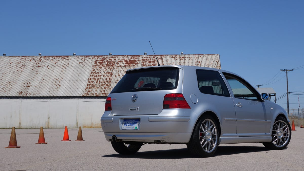 I Autocrossed Every Generation of VW GTI To Find The Best One