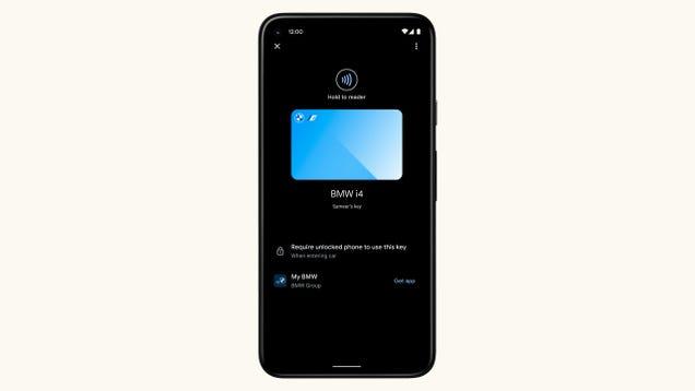 Google Is Bringing Digital Car Keys to Android 12